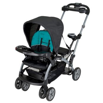 Baby Trend Sit N Stand Ultra Tandem Stroller, Lagoon Review 8