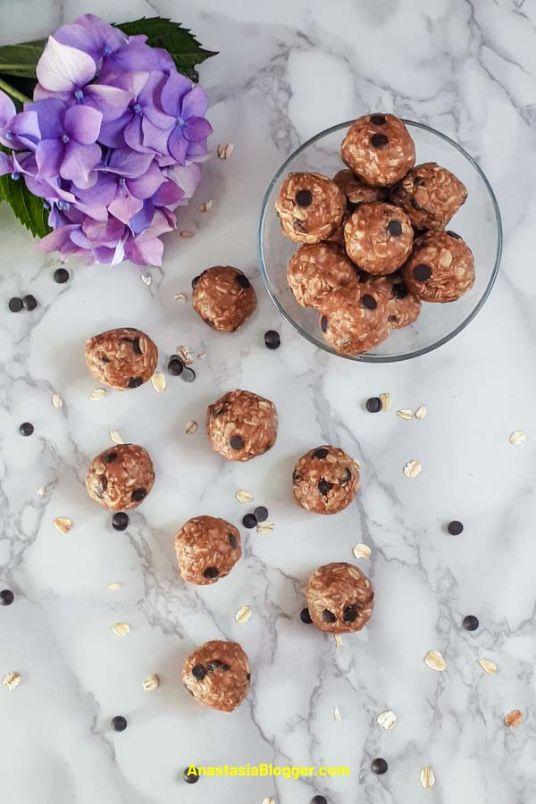 Peanut Butter Energy Balls – No Bake Easy Snack
